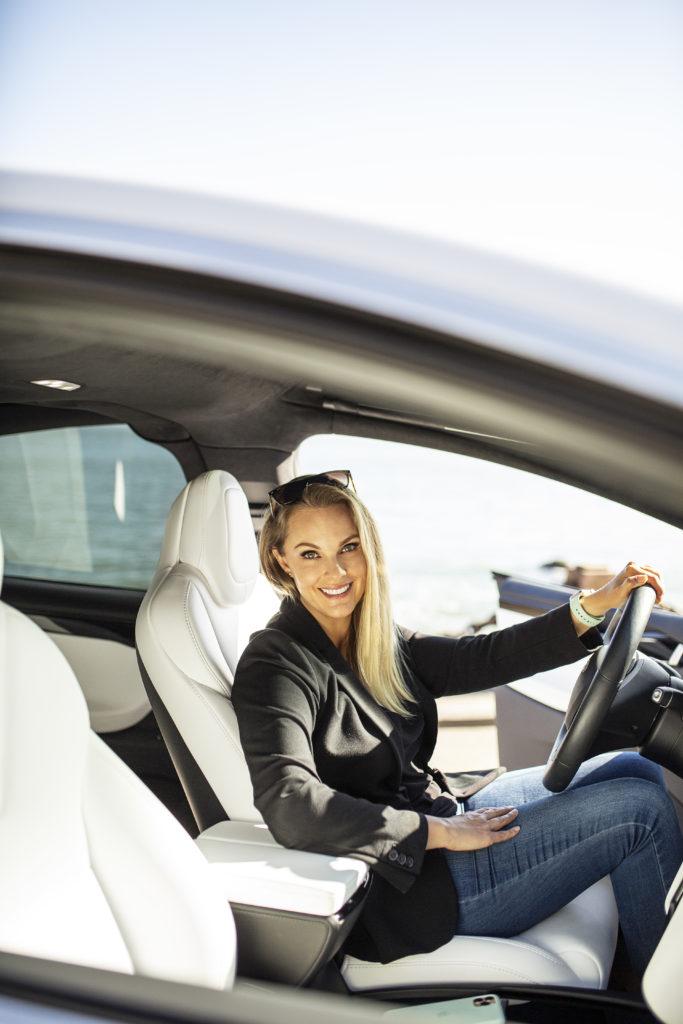 Heather White Spark Experiences Tesla tours in San Francisco