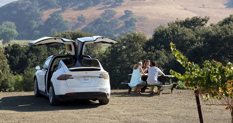 Tesla Wine Country tour with Spark Experiences