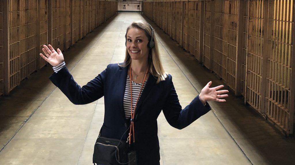 Tour Guide Heather at Alcatraz San Francisco Private Tour