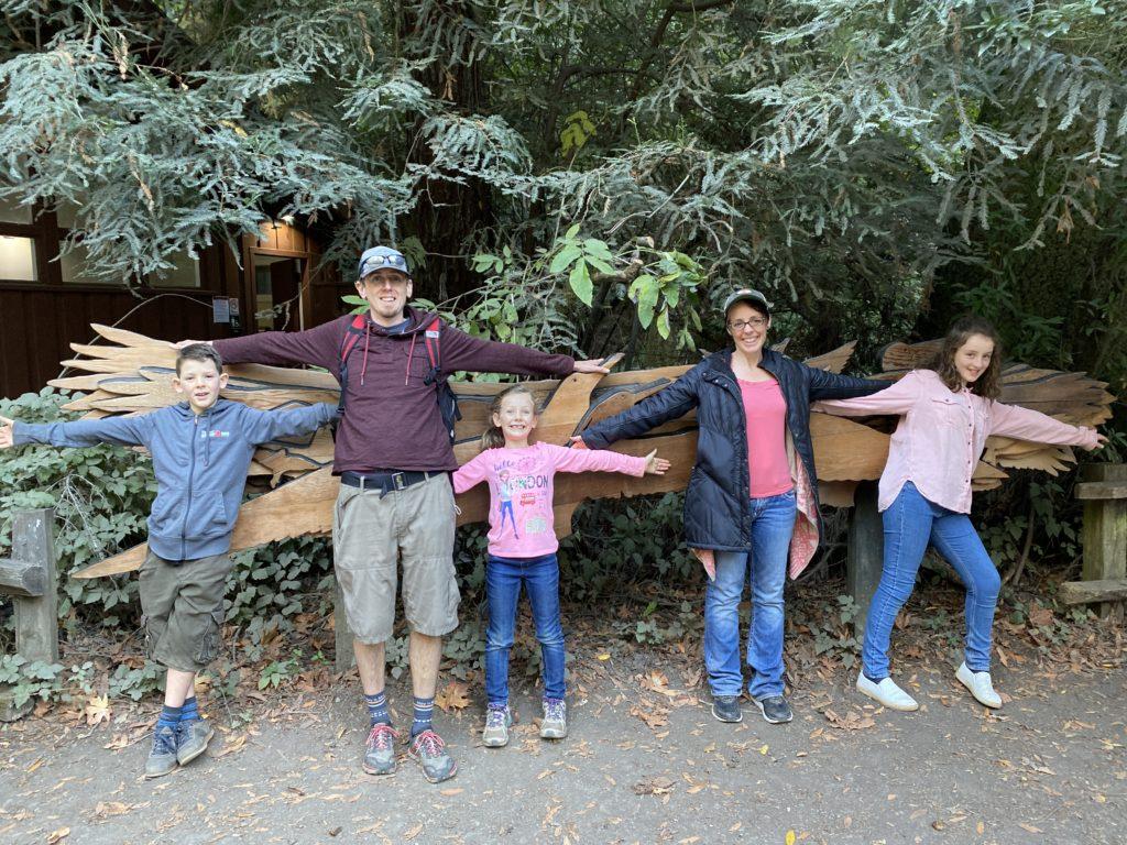 Family Muir Woods Birds